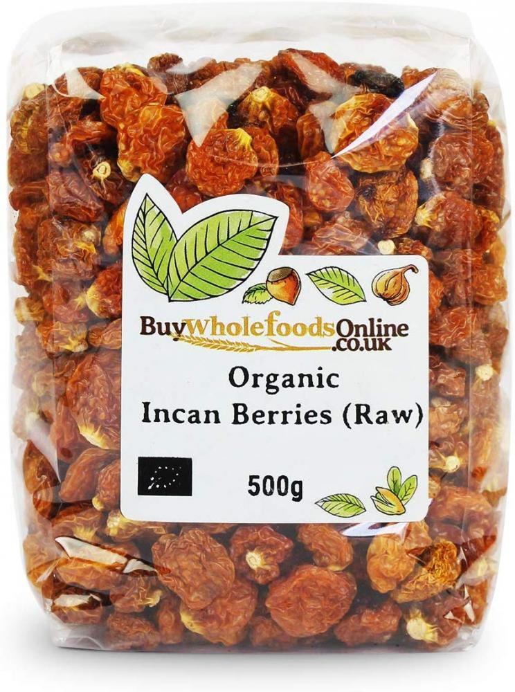 Buy Whole Foods Organic Raw Incan Berries 500g