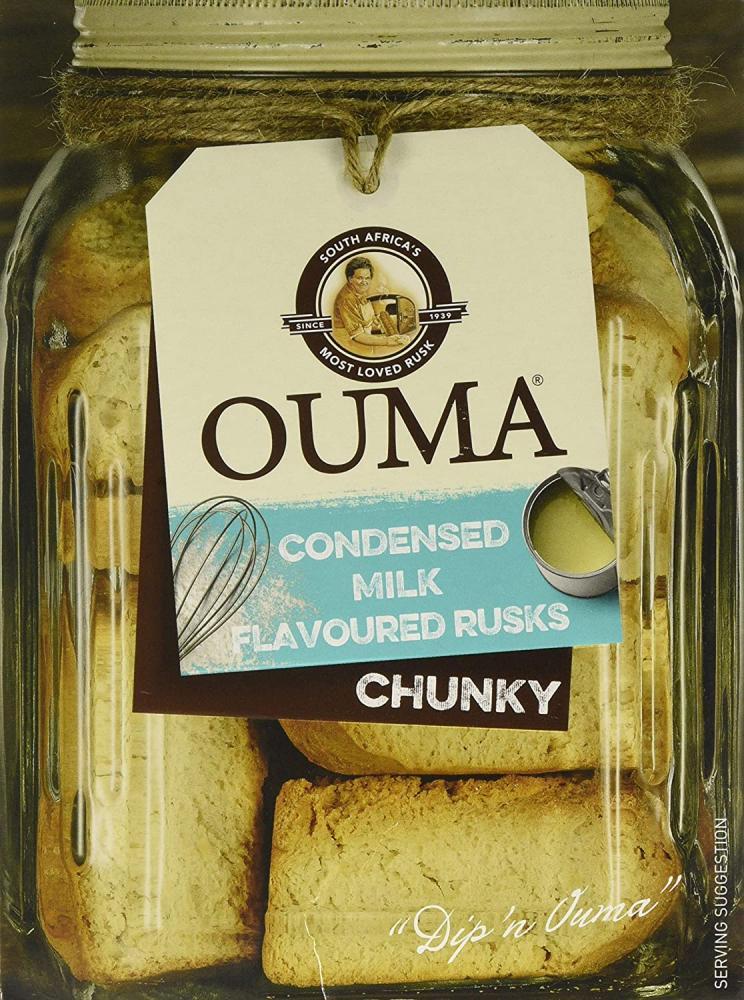 Ouma Condensed Milk Flavoured Rusks 500 g
