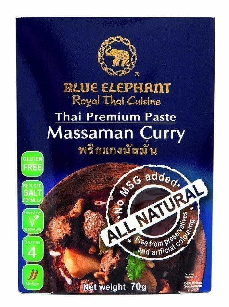 Blue Elephant Royal Cuisine Thai Premium Paste Massaman Curry 70g