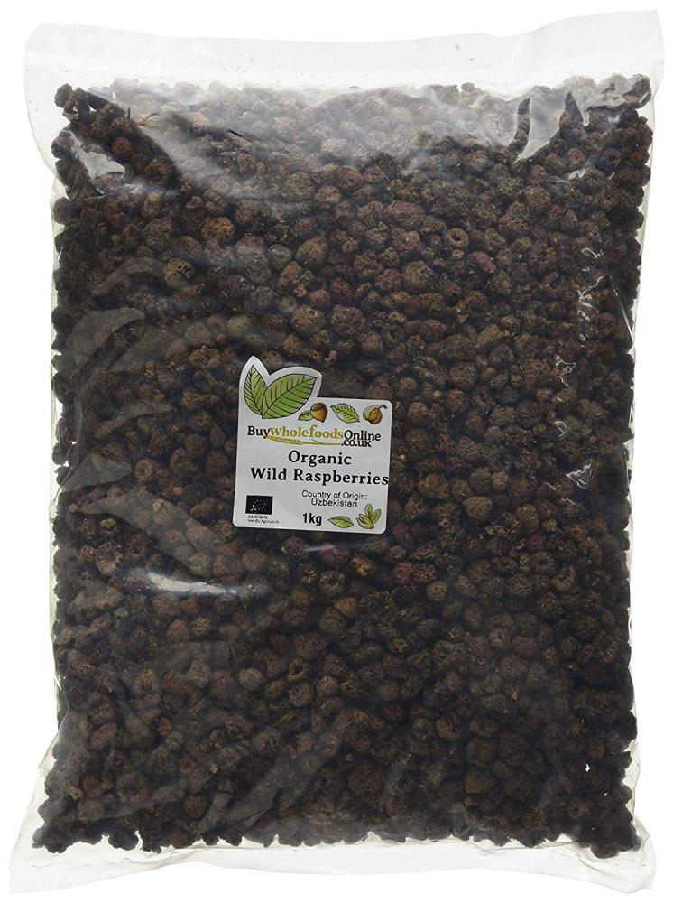 Buy Whole Foods Organic Wild Raspberries 1 kg