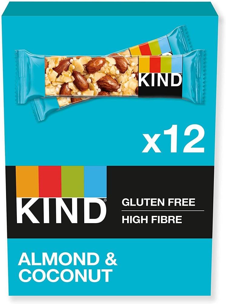 CASE PRICE  Kind Almond and Coconut Bar 12 x 40g