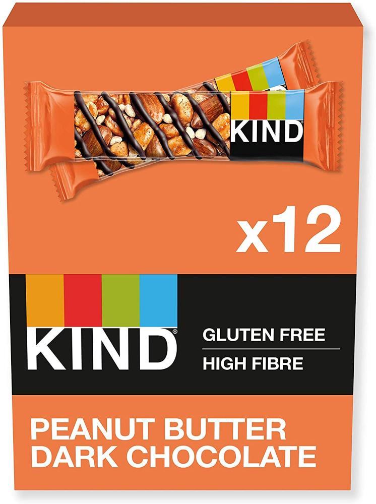 CASE PRICE  Kind Peanut Butter Dark Chocolate Bar 12 x 40g