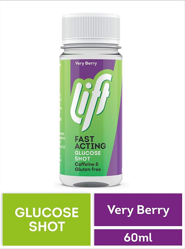 Lift Glucose Juice Shot Berry 60ml