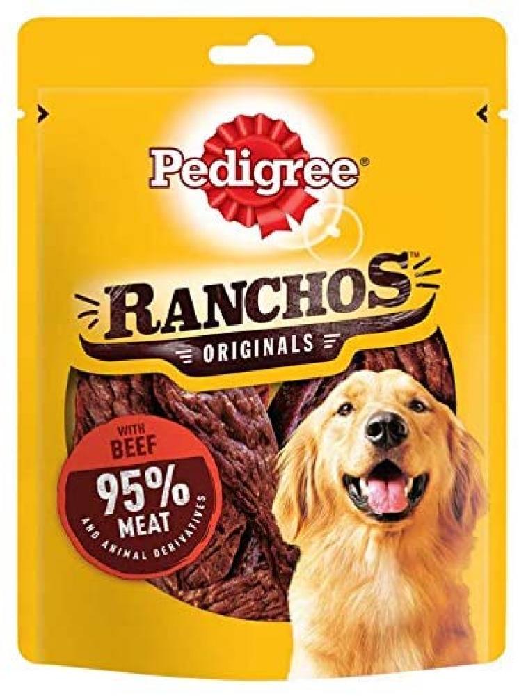 Pedigree Ranchos Dog Treats with Beef 70g
