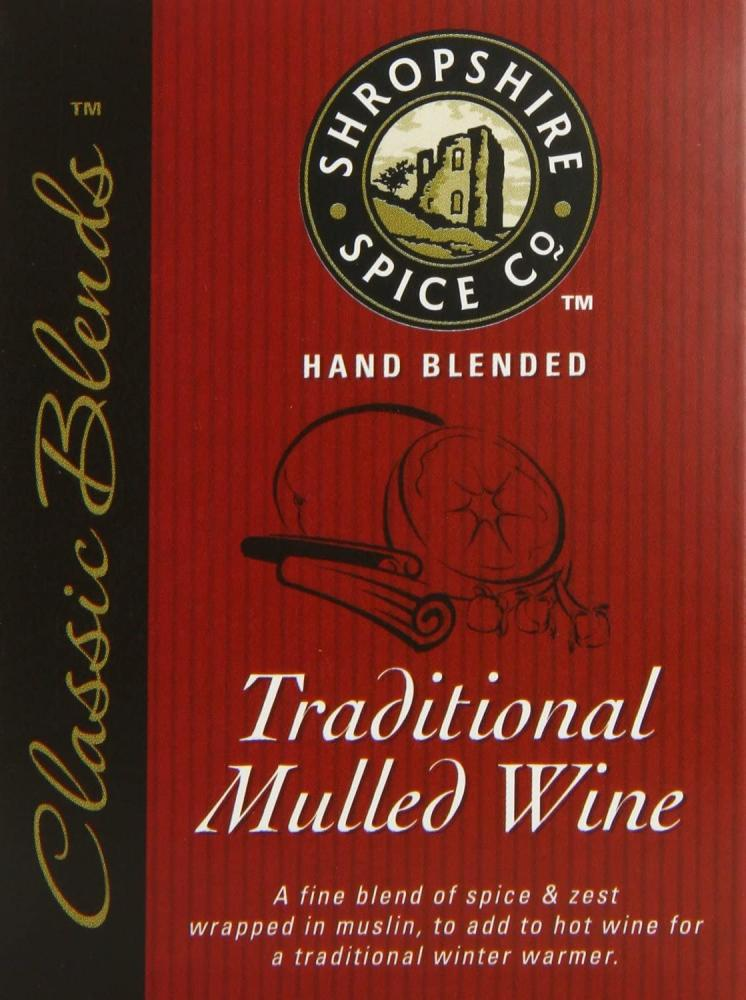 Shropshire Spice Co Traditional Mulled Wine 8g