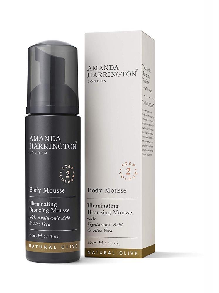 Amanda Harrington London Bronzing Body Mousse Natural Olive 150ml