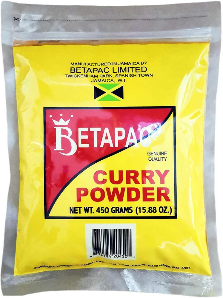 Betapac Large Curry Powder 450 g
