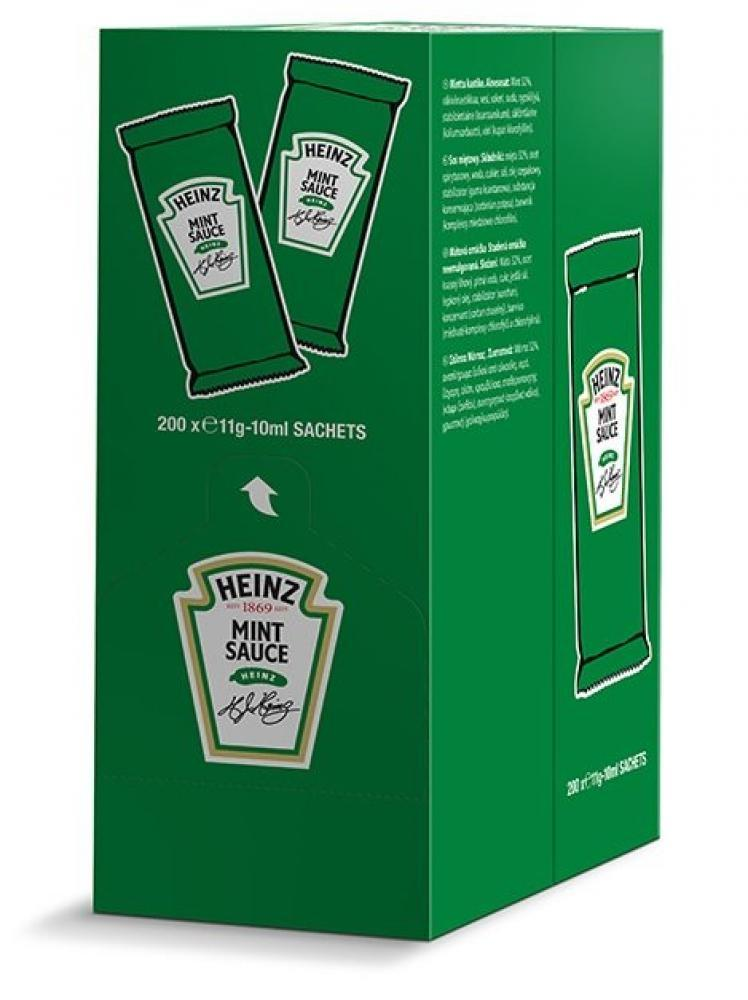 CASE PRICE  Heinz Mint Sauce 10ml x 200