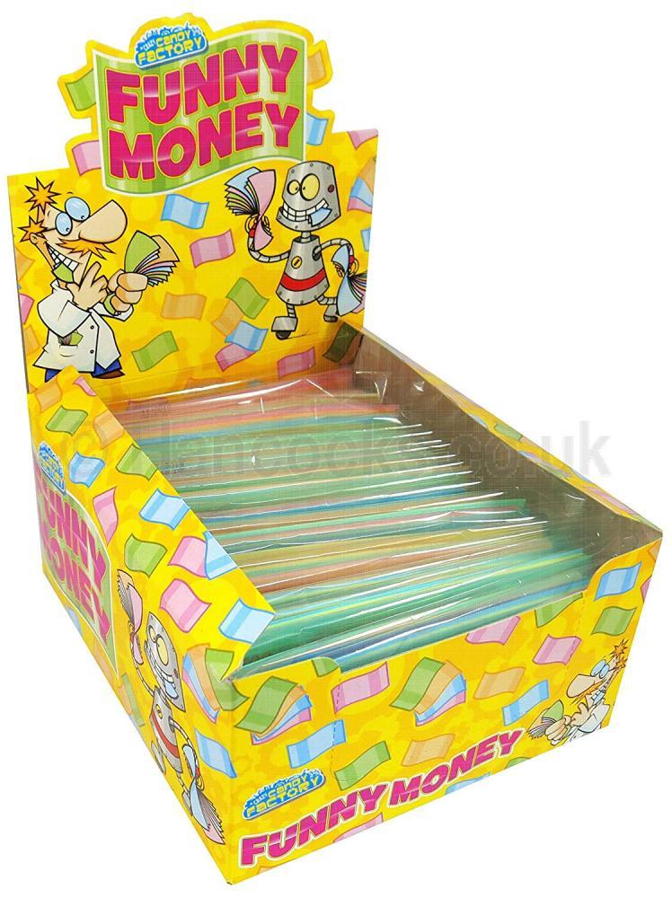 Look O Look Funny Money Edible Paper Money 14g