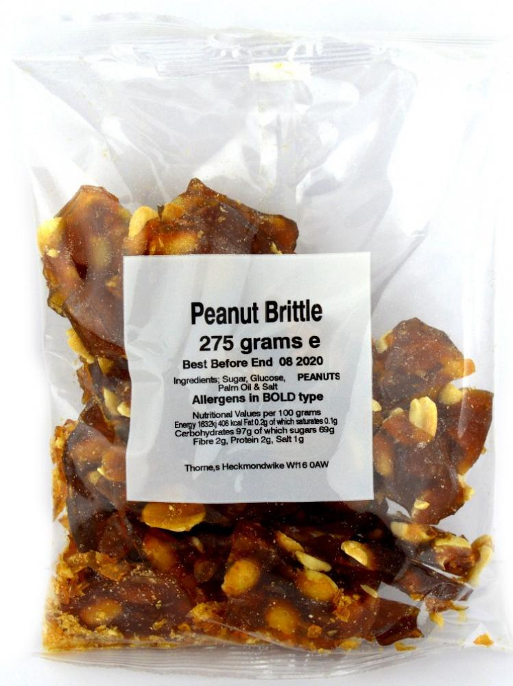 Thornes Peanut Brittle 275g