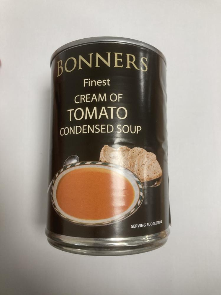 Bonners Finest Cream Of Tomato Condensed Soup 400g