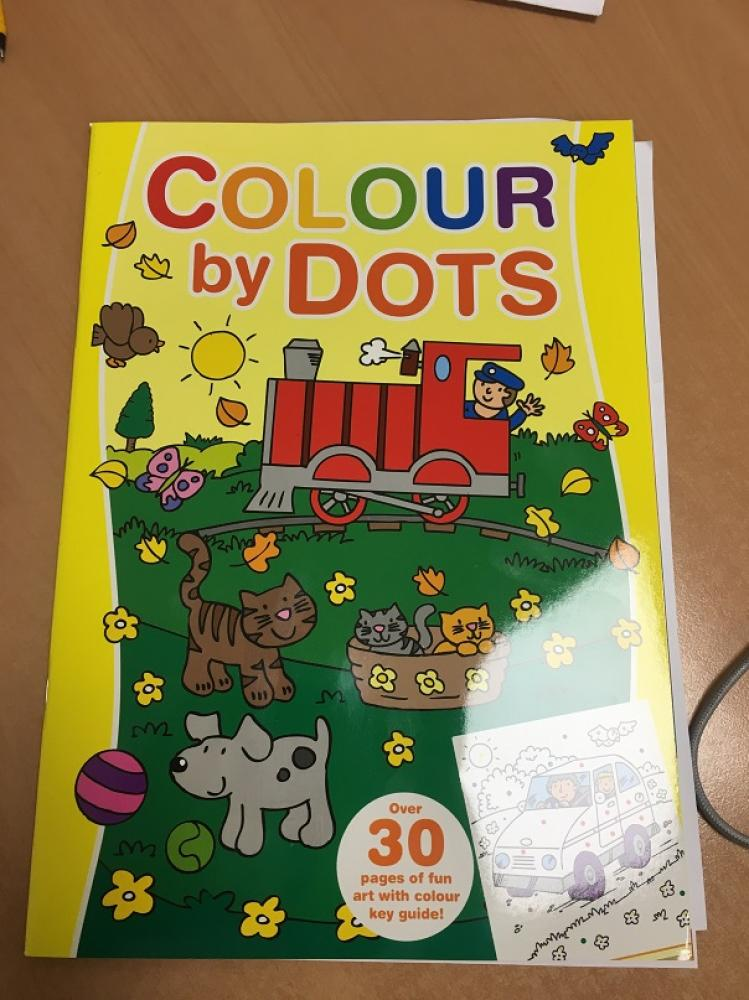 Colour By Dots Yellow