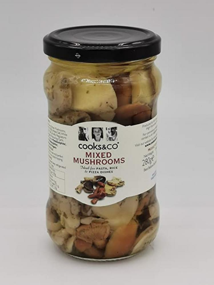 Cooks and Co Mixed Mushrooms 280g