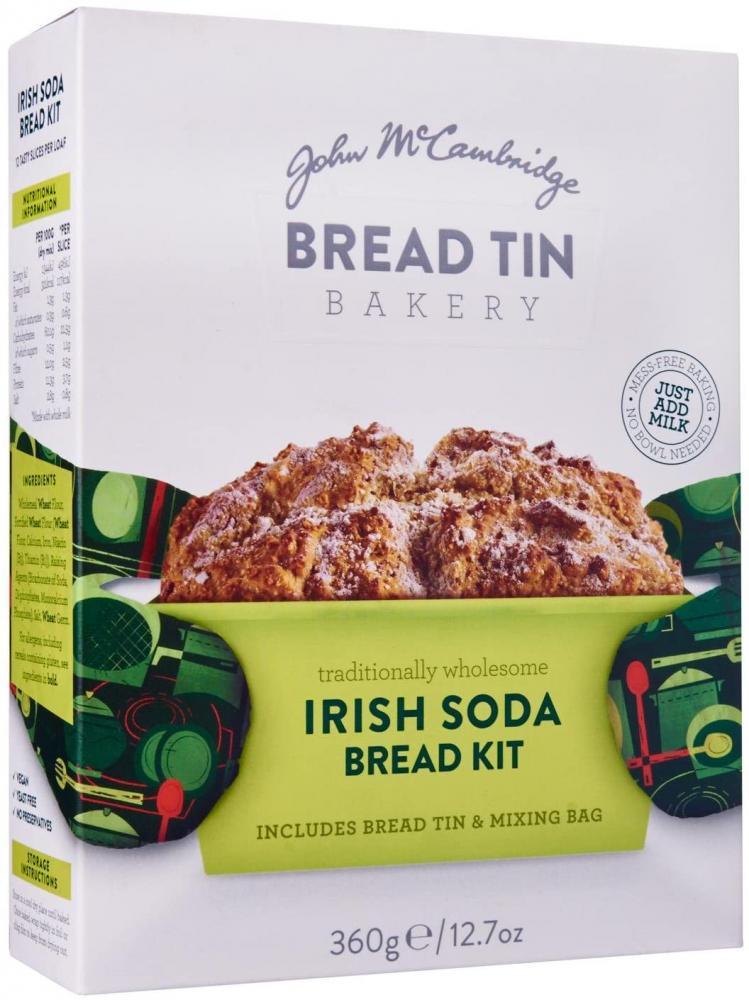 SALE  John M Cambridge Bread Tin Bakery Irish Soda Bread Kit 360 g