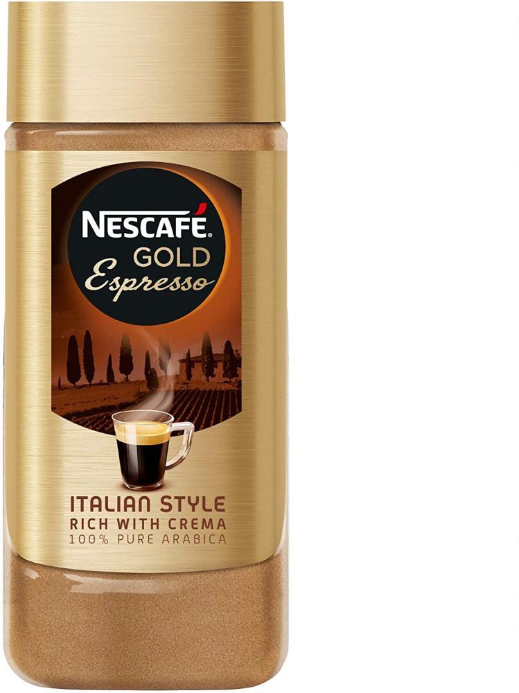 Nescafe Gold Espresso Instant Coffee Jar 100g
