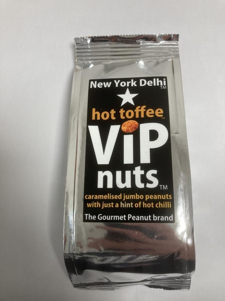 New York Delhi VIP Nuts Hot Toffee 63g