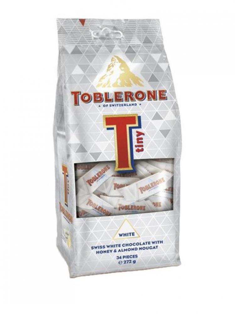 Toblerone Minis White 34 Pieces 272g