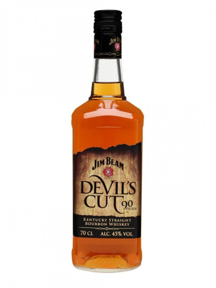 Jim Beam Devils Cut Kentucky Straight Bourbon Whisky 70cl