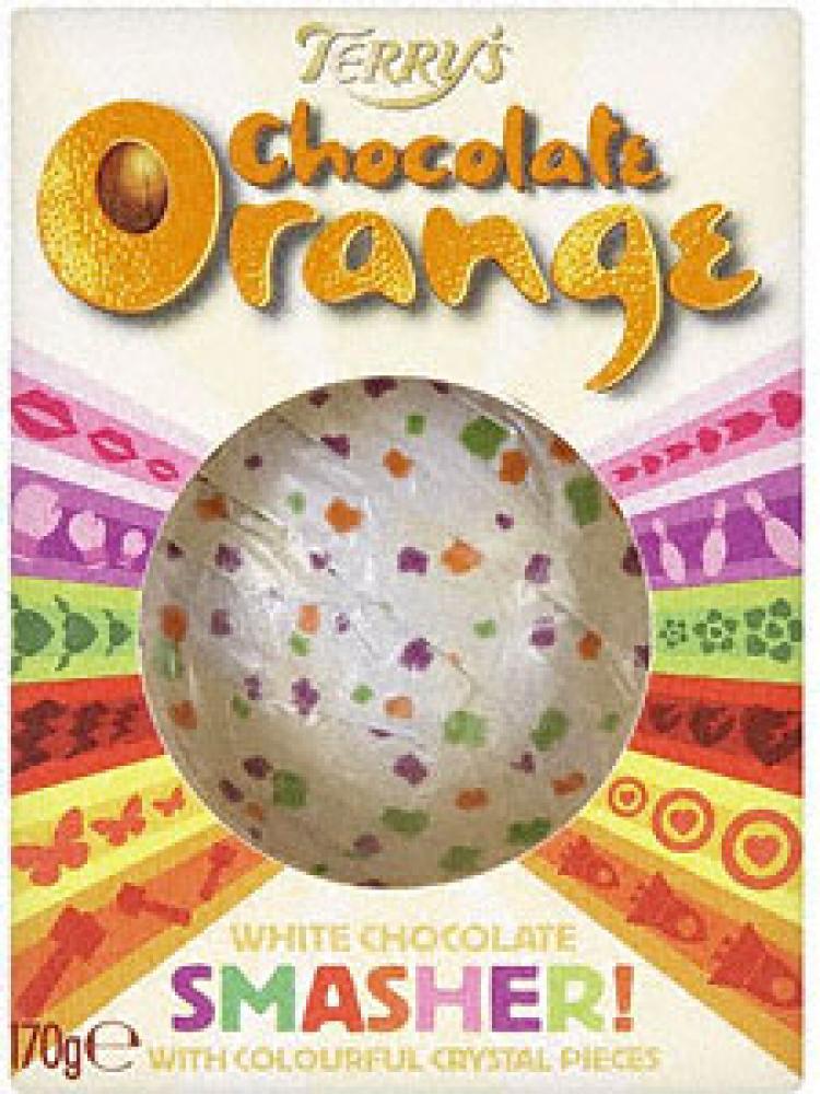 Terrys Chocolate Orange White Chocolate Smasher 170g