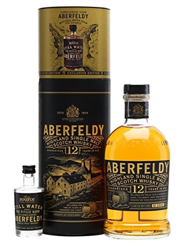 Aberfeldy 12 Years Old Highland Single Malt Scotch Whisky Gift Set