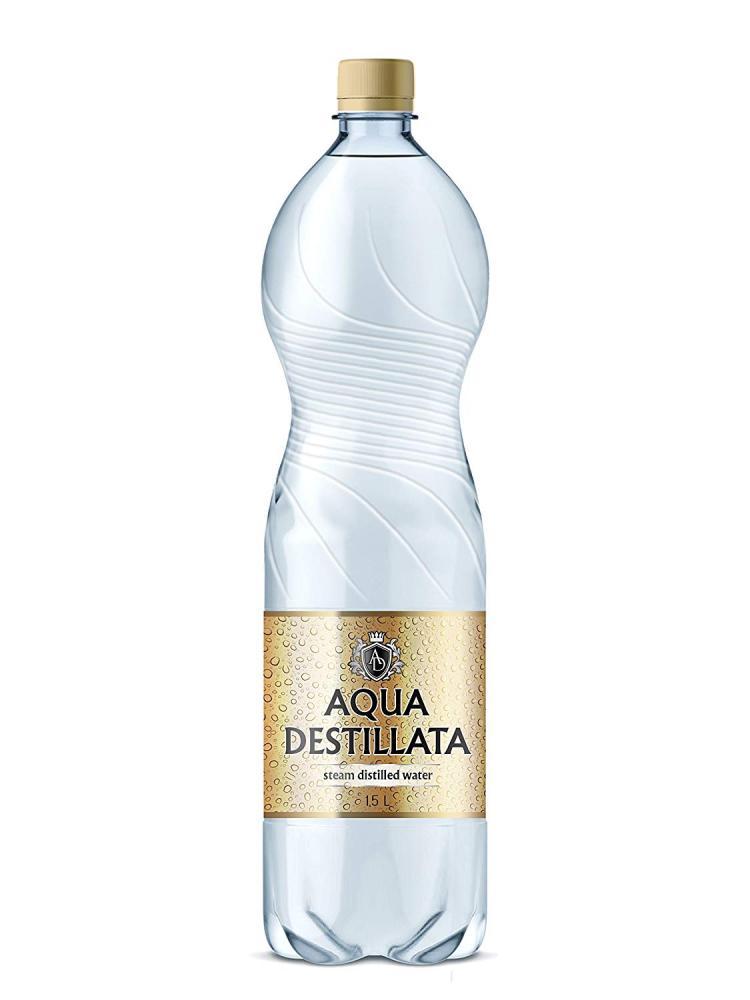 Aqua Destillata Pure Steam Distilled Water 1500ml