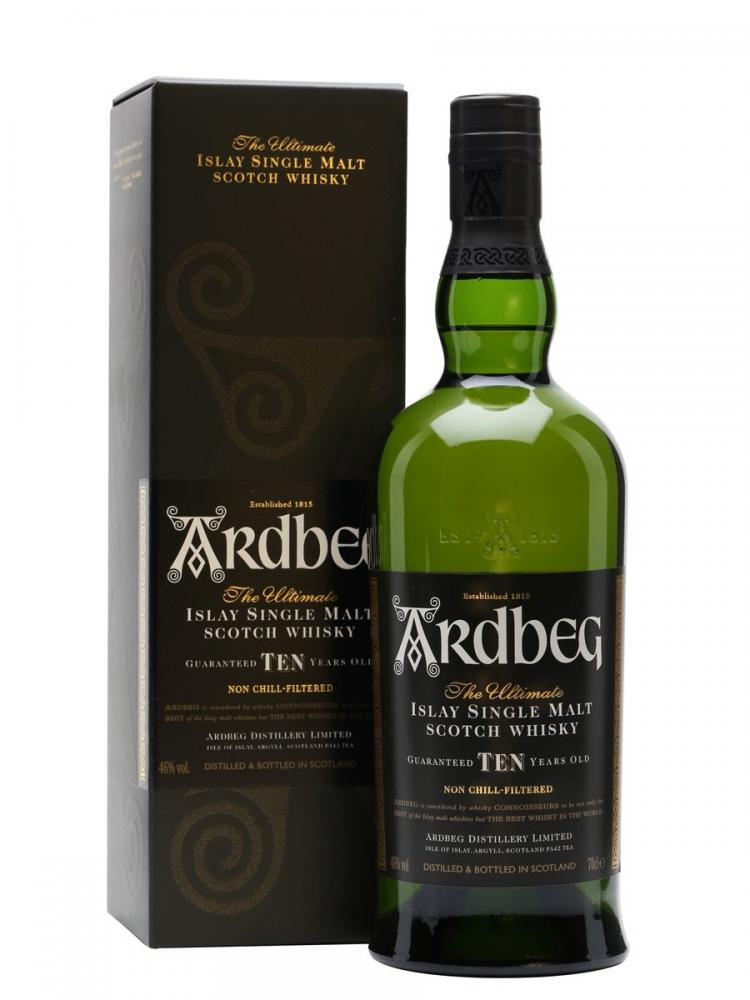 Ardbeg Islay Single Malt Scotch Whisky 10 Years Old 1L