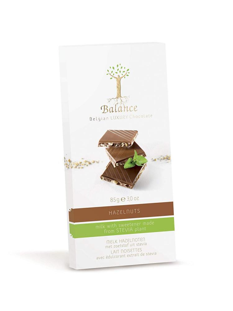 Balance No Added Sugar Milk Hazelnut Chocolate Bar 85g