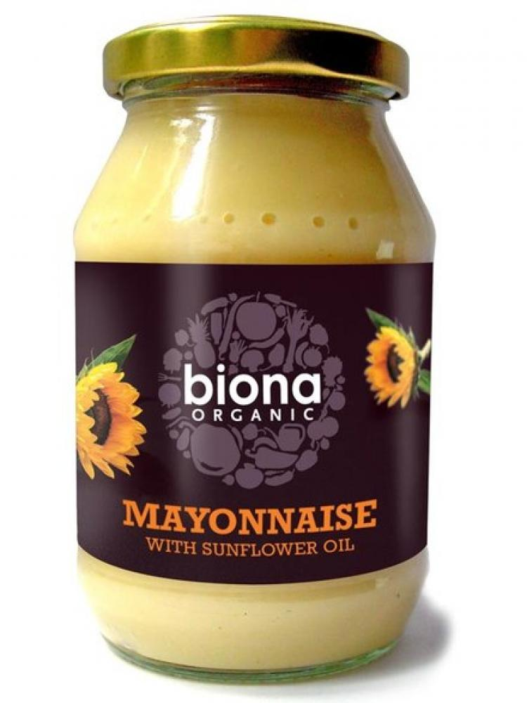 Biona Organic Mayonnaise With Sunflower Oil 230g