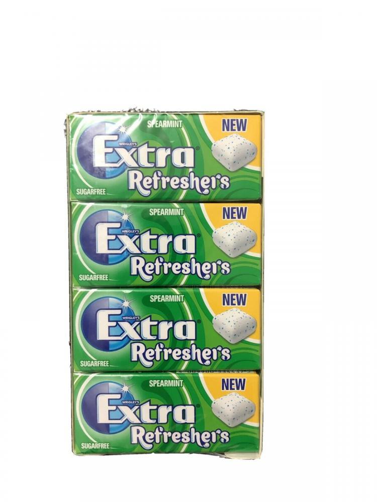 CASE PRICE  Wrigleys Extra Refreshers Spearmint 16 x 7 Pieces