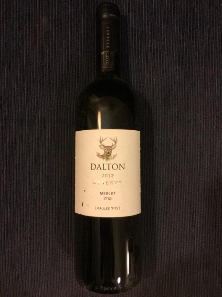 Dalton Merlot Wine Kosher 75cl 2012