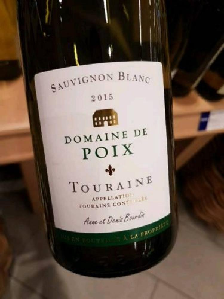 Domaine de Poix Touraine Sauvignon Blanc 75cl