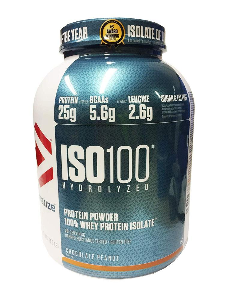 Dymatize ISO 100 Chocolate Peanut Whey Protein 2.2kg