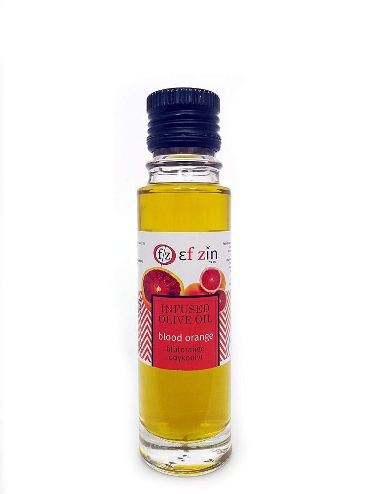 Ef Zin Blood Orange Infused Greek Olive Oil 100ml