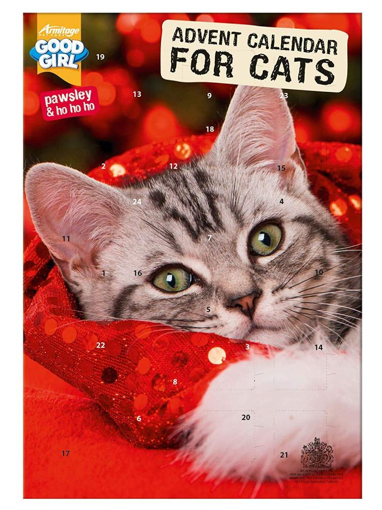 WEEKLY DEAL  Good Girl Pawsley Cat Advent Calendar 72 g