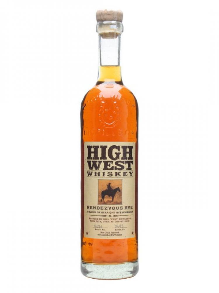 High West RENDEZVOUS RYE A Blend Of Straight Rye Whiskes 700ml