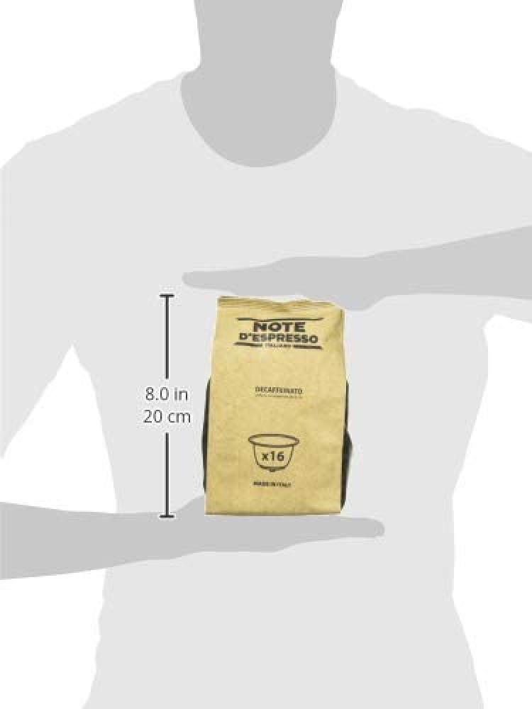 Note dEspresso Italiano Decaffeinato Coffee Capsules 112 g