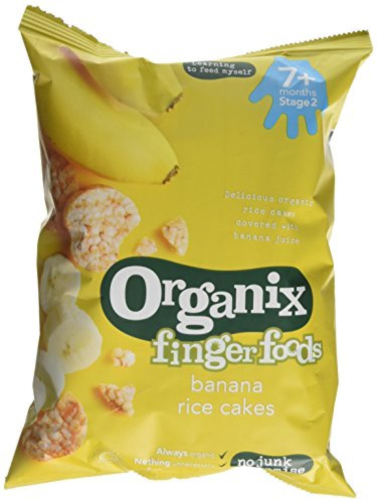 Organix Organic Banana Rice Cakes 50 g