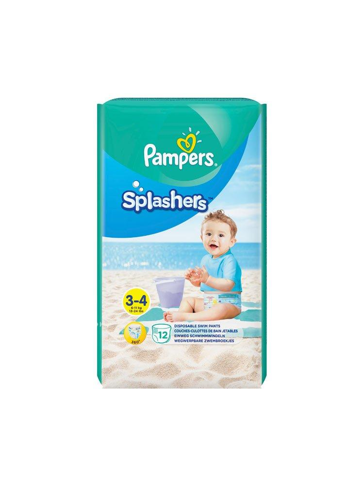 Pampers Splashers Size 3-4 12x
