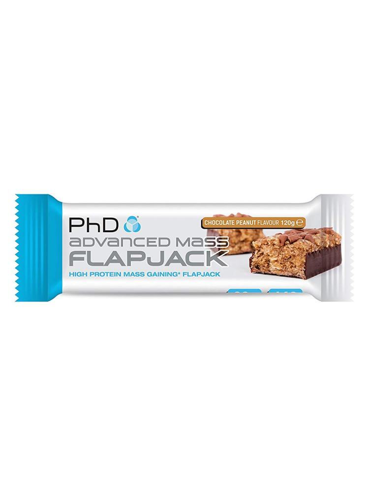 PhD Advanced Mass Flapjack Chocolate Peanut 120g