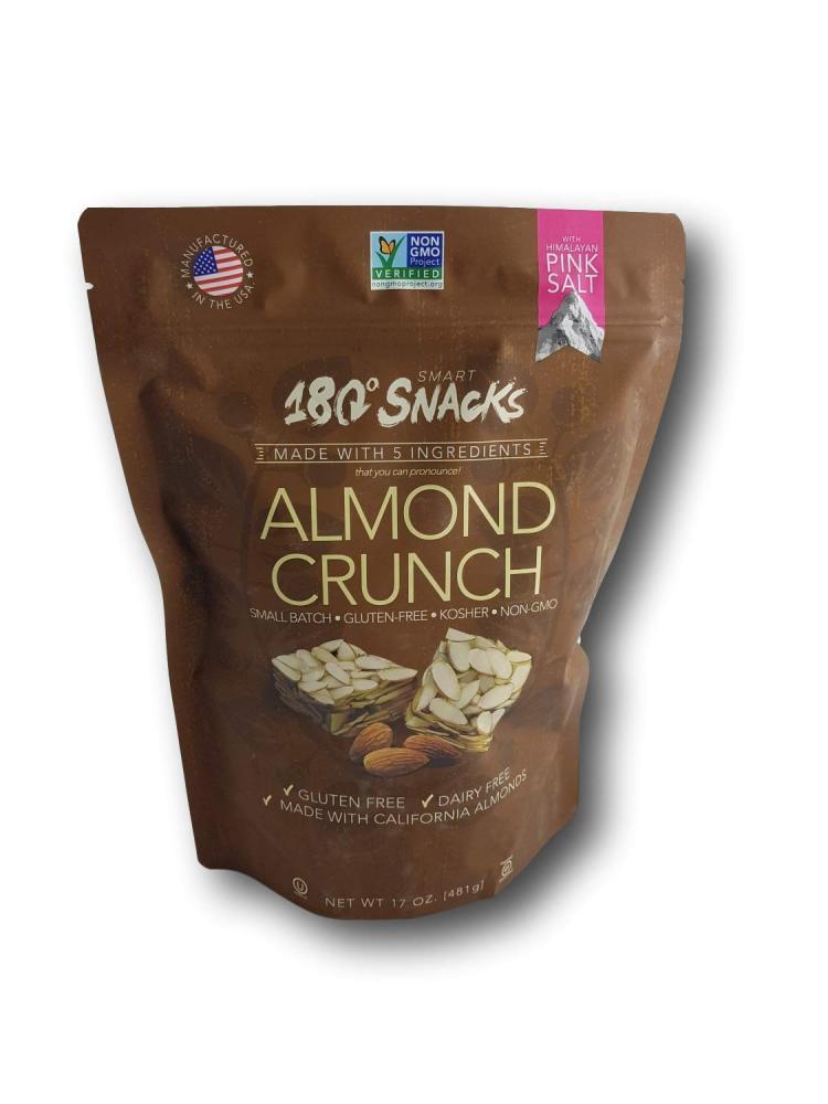 SALE  Smart 180 Snacks Almond Crunch 481g