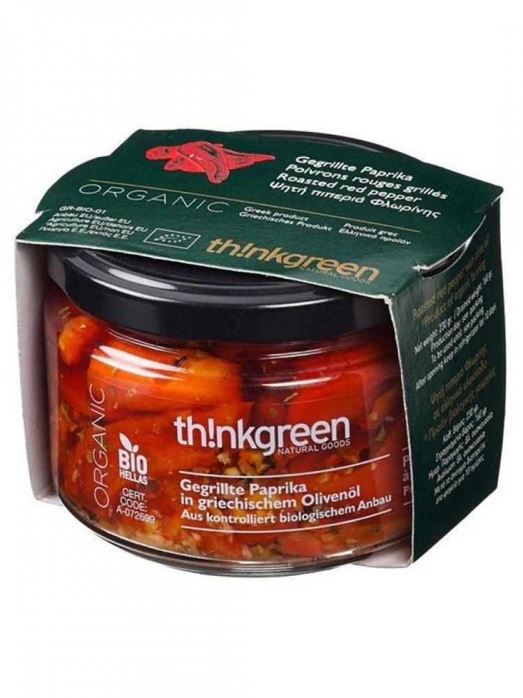 ThinkGreen Roasted Red Pepper with Greek Olive Oil and Garlic 290g
