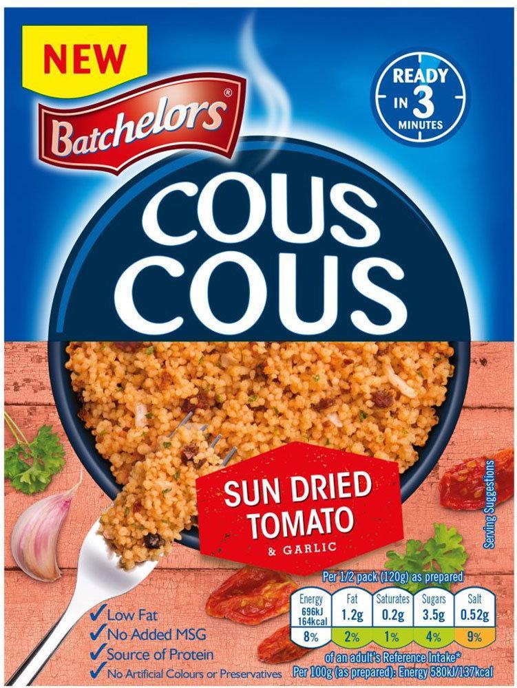 Batchelors Cous Cous Sun Dried Tomato 90g