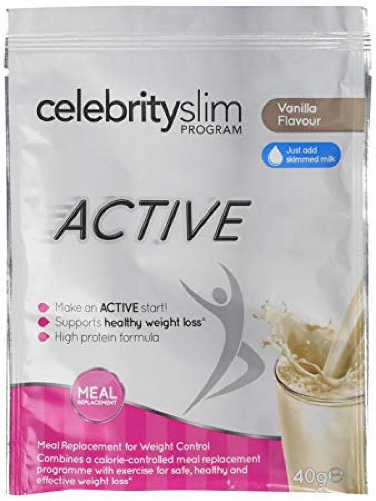 Celebrity Slim Program Active Vanilla Flavour 40g