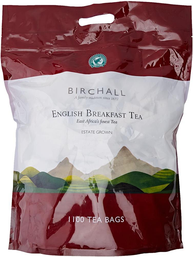 Birchall English Breakfast Tea 1100 Two Cup Tea Bags 3kg