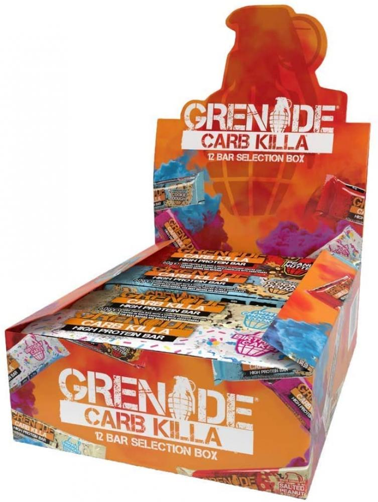 CASE PRICE  Grenade Carb Killa High Protein Selection Box 12 x 60 g