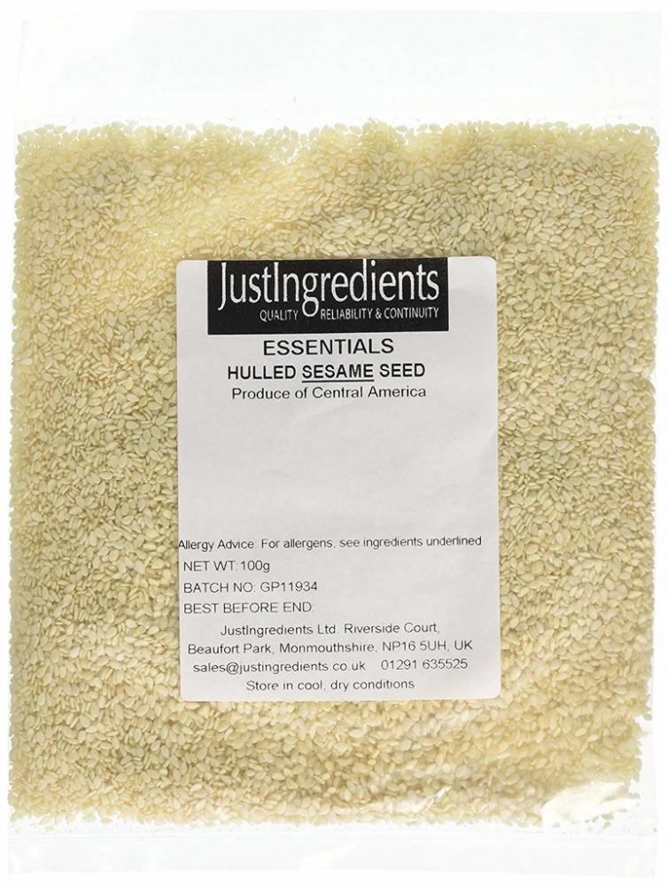 JustIngredients Essentials Sesame Seeds Hulled 100 g