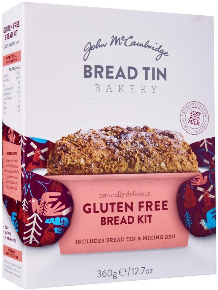 McCambridge Bread Tin Bakery Gluten Free Bread Kit 360 g