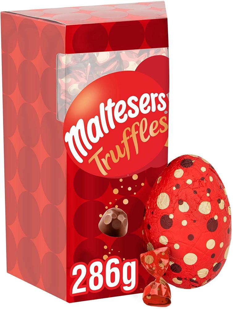 Maltesers Truffles Chocolate Easter Egg 286g Damaged Box