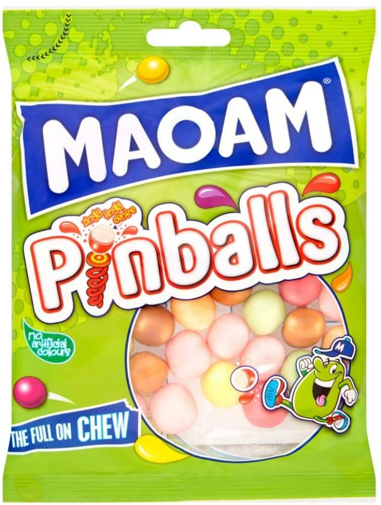 Maoam Pinballs Chewy Fruit Sweets Bag 170g