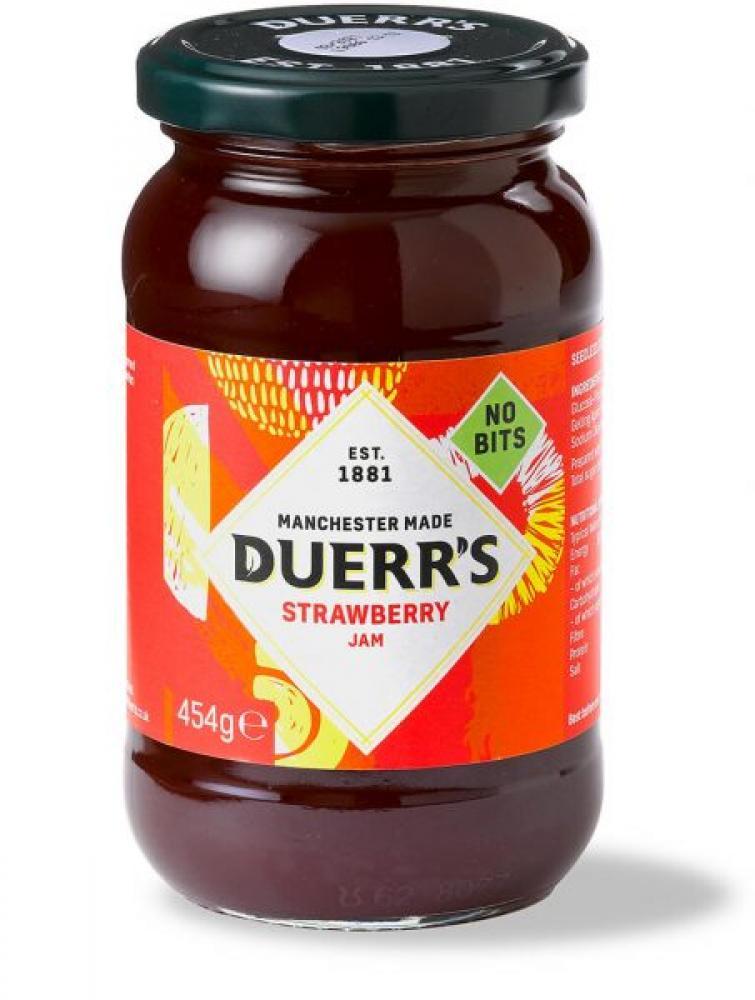 Duerrs Strawberry Jam 454g